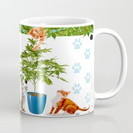 Love My Cats and Cannabis Coffee Mug