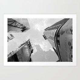 New York Buildings Art Print