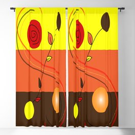 Three colors Blackout Curtain