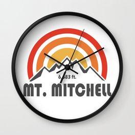 Mount Mitchell Wall Clock