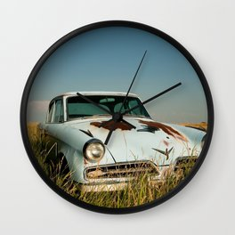 Retired Studabaker Wall Clock