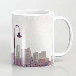 Minneapolis Minnesota Skyline at the Stone Arch Bridge Coffee Mug