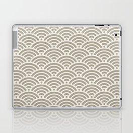Gray Grey Alabaster Mermaid Scales Laptop & iPad Skin