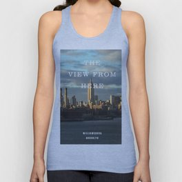 View from Williamsburg Unisex Tank Top