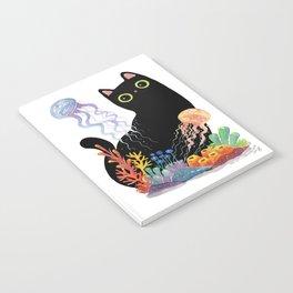 the Aquarium Cat _ Jellyfish Notebook