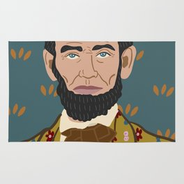 Abe Lincoln Rug