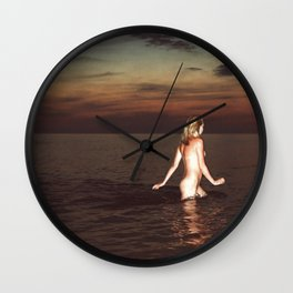 Naked Youth Wall Clock
