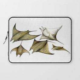 Chilean devil manta ray (Mobula tarapacana) Laptop Sleeve
