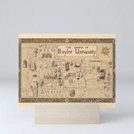 Baylor University 1939 Mini Art Print