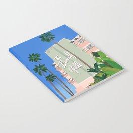 BERVERLY HILLS HOTEL Notebook