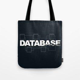 Database Administrator Tote Bag