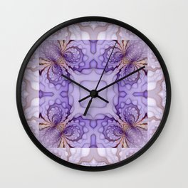 Intricate Scrolls Wall Clock