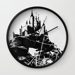 Grand Interpretations I Wall Clock