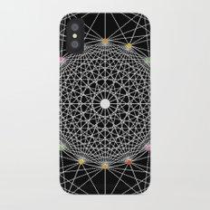 Geometric Circle Black/White/Colour Slim Case iPhone X