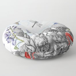 THE VISITORS Floor Pillow
