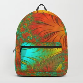 Mediterranean Muse - Fractal Art Backpack