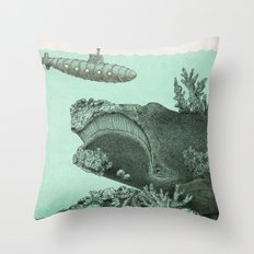 Leviathan  Throw Pillow