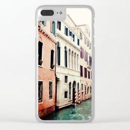 Venice Canals II Clear iPhone Case