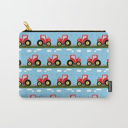 Toy tractor pattern Carry-All Pouch