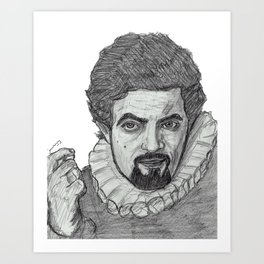 Blackadder Art Print