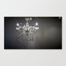 chandelier in NYC Canvas Print