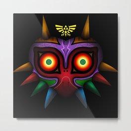 The Mask Of Majora Metal Print