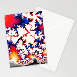 penta leafs Stationery Cards