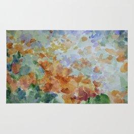 Sunburst Poppies Rug