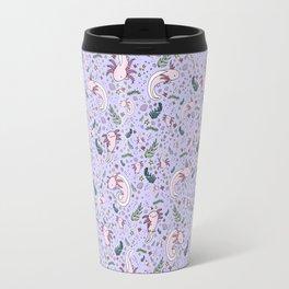 Axolotl Pattern Travel Mug