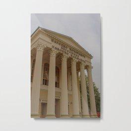 National theatre in Subotica, Serbia Metal Print