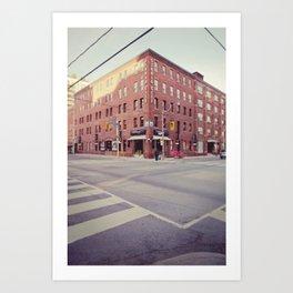 Studio City Art Print