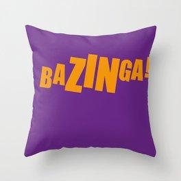 Bazinga Sheldon Big Bang Throw Pillow
