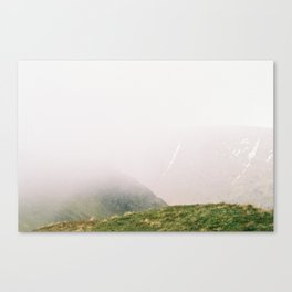 the Mist approaches Canvas Print