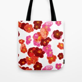 Quince flower pattern 2 Tote Bag
