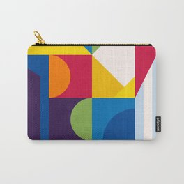 Abstract modern geometric background. Composition 15 Carry-All Pouch