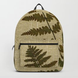 Ferns by Kathy Morton Stanion Backpack