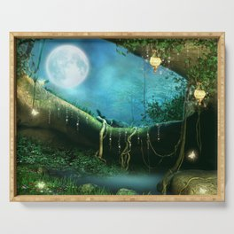 Enchanted Forest Serving Tray