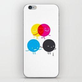 YM love CK hate iPhone Skin
