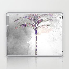 Painted Palm Gray Laptop & iPad Skin