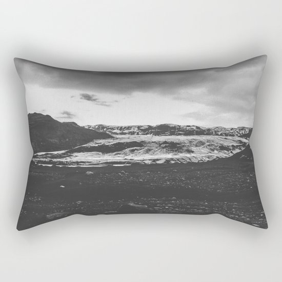 Ice giant - black and white landscape photography Rectangular Pillow