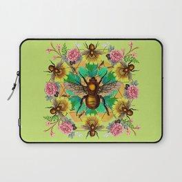 Bee Mandala Laptop Sleeve