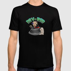 Dav-Rod LARGE Mens Fitted Tee Black