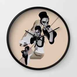 Interlaying Wall Clock