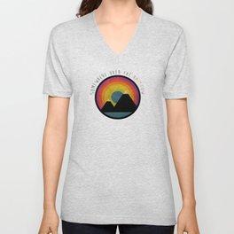 Somewhere over the rainbow Unisex V-Neck