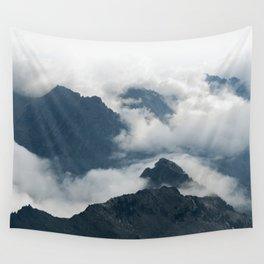 Tetons from Table Mountain Wall Tapestry