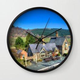 Carrog Railway Station Wall Clock