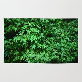 Military support Glow Japanese Maple Rug