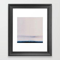 Film Burn Framed Art Print
