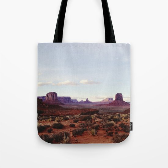 Monument Valley View Tote Bag