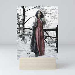 Winter Queen Mini Art Print